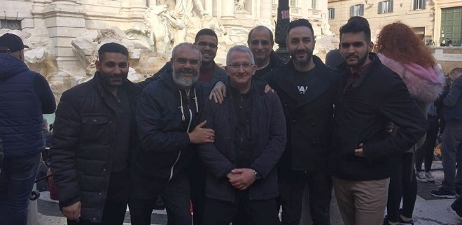 On Saturday 1 December, a group of Shiiti Muslims from the Hyderi Islamic Centre in London paid a short visit to Rome and to the PISAI