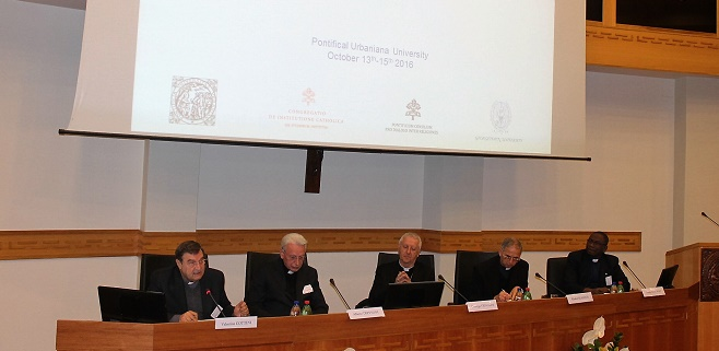 Raḥma. Muslim and Christian Studies in Mercy, is the conference organized by the Pontifical Institute for Arabic and Islamic Studies (PISAI) at the Urbaniana University from the 13th to the 15th October 2016.